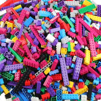 积木玩具DIY拼装积木小儿童玩具男女孩拼插1000颗粒