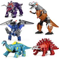 变形玩具金刚恐龙战队五合体霸王龙模型正版机器人儿童男孩3-6岁8