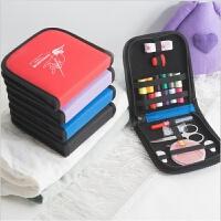 旅行针线包便携套装迷你缝纫线盒家用针线盒多功能缝补收纳包