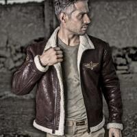 飓风F19空军飞行夹克 秋冬户外服装男加厚保暖夹克外套 军迷服饰 XXX