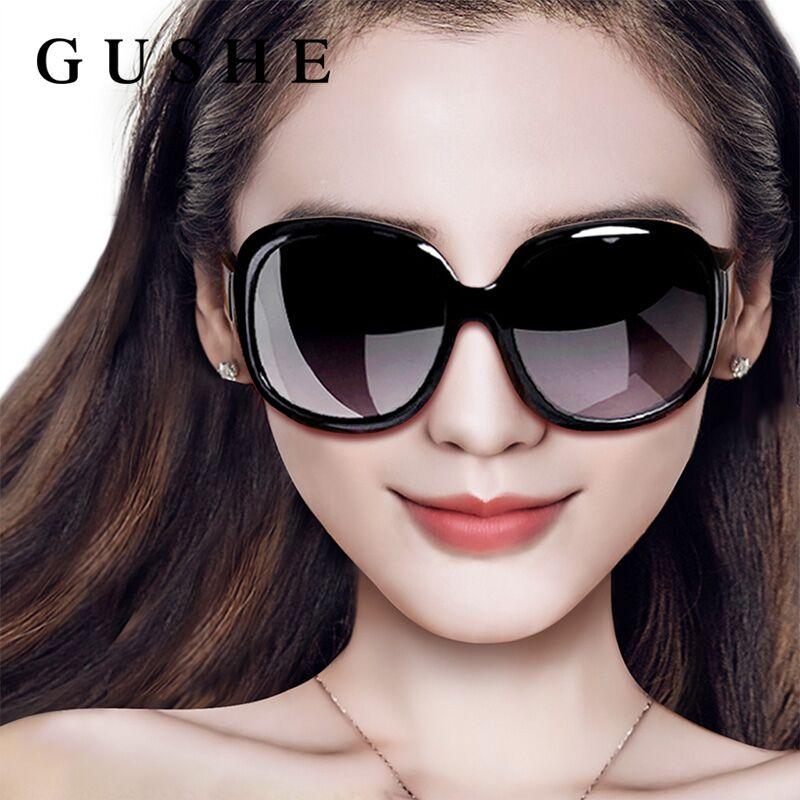 太阳镜女士潮新款防紫外线大框眼镜优雅墨镜眼睛圆脸偏光
