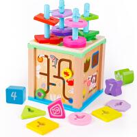 宝宝积木玩具婴幼儿童男女小孩子启蒙园
