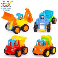 儿童玩具工程车5件益智套装2岁玩具惯性工程车326工程车队