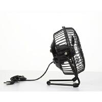 普润 usb迷你风扇静音4寸小风扇 USB桌面散热风扇电风扇 粉色
