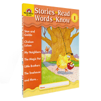 Evan Moor Stories To Read Words to Know Level I 美国加州教辅 阅读学词