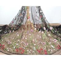 森林系刺绣蕾丝花边辅料礼服连衣裙diy材料服装衣服背景布料面料