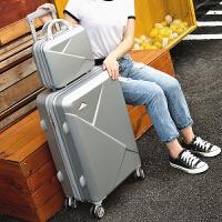 拉杆箱女小清新旅行箱子母皮箱22学生密码箱韩版万向轮24寸行李箱
