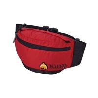 户外多功能运动腰包男女士时尚小胸包健身骑行跑步腰包 红色BE02201 2L