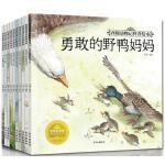西顿动物记科普绘本全套10册2-3-4-5-6岁儿童绘本图书动物世界百科全书 幼儿园图画书 亲子读物经典睡前故事童书正