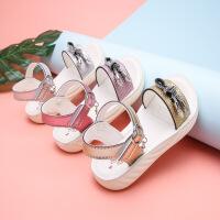 儿童沙滩鞋学生鞋宝宝软底女童鞋