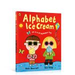 英文原版Alphabet Ice Cream: A fantastic fun-filled ABC冰淇淋