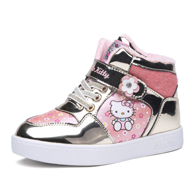 HELLOKITTY童鞋时尚甜美舒适运动板鞋全店满99减30 199减70