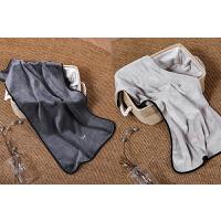 创意毛巾比纯棉轻柔软吸水情侣女家用洗脸个性简约大手巾 37x76cm