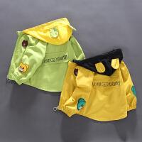 童装男童风衣外套儿童秋装婴儿宝宝外套
