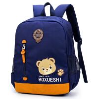 韩版3-6岁幼儿园书包印字男宝宝包包儿童背包5岁男童女孩双肩包潮