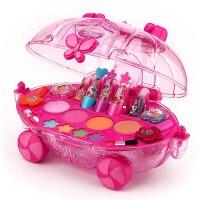 女孩彩妆盒套装过家家玩具礼物 可化妆儿童化妆品公主化妆车