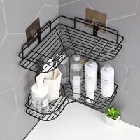 浴室置物架洗手间卫生间用品厕所卫浴洗漱台三角收纳架壁挂免打孔