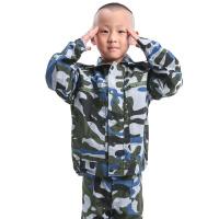 童装迷彩服 夏令营男女儿童军训训练服 夏季学生短袖迷套装