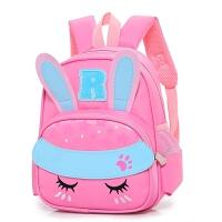 天天儿童书包可爱卡通兔幼儿园双肩背包男女童3-5-6岁7学前班 粉红色 送文具五件套