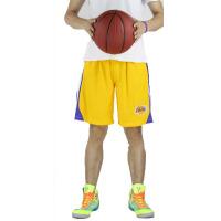 20180322212341298新款湖人篮球中裤 男士夏季运动休闲装五分裤 科比林书豪篮球服