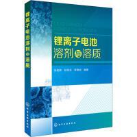 锂离子电池溶剂与溶质 化学工业出版社