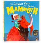 长毛象失踪秘密档案 The Curious Case of the Missing Mammoth 英文原版 翻翻书