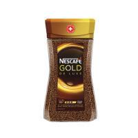 [当当自营] 瑞士进口 Nescafé Gold 雀巢金装无糖纯黑速溶咖啡 200g