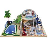 模型创意男生女生日礼物清夏小筑DIY小屋手工制作拼装房子
