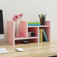 门扉 书架 简易桌上书架创意学生桌面小书柜儿童收纳柜子宿舍书桌置物架花架