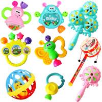婴儿玩具3-6-12个月新生儿摇铃 0-1岁宝宝益智早教幼儿手摇铃牙胶 摇铃七件套+叮当球+拨浪鼓