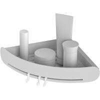 免打孔浴室置物架洗手间三角收纳架毛巾厕所洗漱台厨房卫生间壁挂
