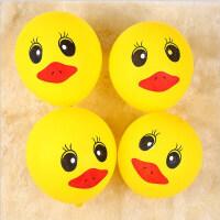黄鸭气球卡通气球克鸭子气球节日庆典生日派对装饰气球约只装寸大气球 黄色 12寸