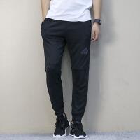 Adidas阿迪达斯 男子 运动休闲长裤 针织收口小脚裤BK0946