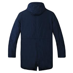 【限时抢购到手价:199元】AMAPO潮牌大码男装 男士肥佬加肥加大码5XL冬季连帽棉衣保暖外套