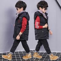 童装男童马甲秋冬装儿童背心韩版运动棉衣马夹
