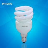 飞利浦节能灯 螺旋型8W节能灯泡E14/E27家用螺旋节能灯(新老包装随机发)