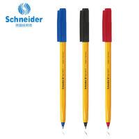 德国施耐德Schneider防水顺滑便携圆珠笔学生考试505F 10支中性笔