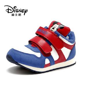 鞋柜/迪士尼冬加绒男童休闲卡通短靴1