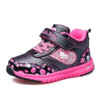 hellokitty童鞋运动鞋女童棉鞋加绒冬季新款保暖儿童休闲小童K6410DD978