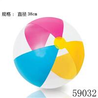 【支持礼品卡】充气球沙滩球儿童早教游泳水球塑料球水上玩具彩色球海洋球k2l