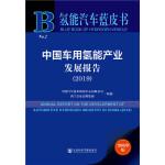 氢能汽车蓝皮书:中国车用氢能产业发展报告(2019)