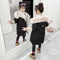 女童棉衣外套冬�b�L款洋�庥鸾q�和�棉�\冬季童�b