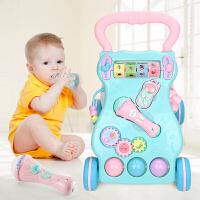婴儿学步车手推车可调速6-18个月儿童玩具多功能助步车