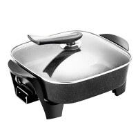 烤肉锅无烟烧烤炉家用电3-5人麦饭石电烤盘烤肉火锅一体锅