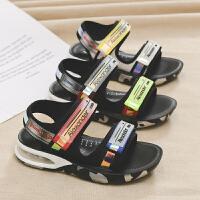 男童凉鞋中大童软底夏季宝宝沙滩鞋儿童学生男孩鞋子