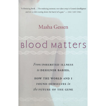 Blood Matters(ISBN=9780156033312) 英文原版
