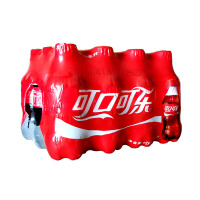 新日期 可口可乐 可乐 300ml*12瓶 碳酸饮料 汽水 出游方便装 迷你小瓶装