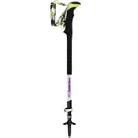 登山杖碳素超轻手杖 碳纤维内外锁徒步户外装备 白色