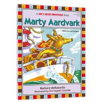 自然拼读一起学:土豚马蒂(元音组合ar) Let's Read Together: Marty Aardvark