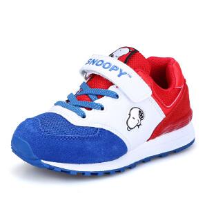 史努比童鞋男童女童网鞋儿童运动单网鞋透气休闲鞋潮